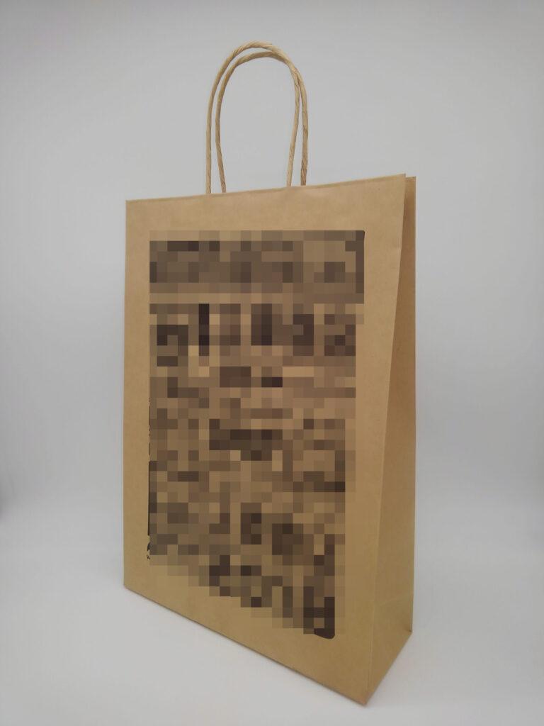 単紙クラフトOFJ手提袋